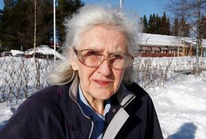 I 48 år har Maj-Britt Ekström bott i Oden-skog tillsammans med sin sambo Arne.