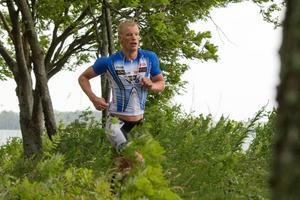 Karl-Johan Danielsson, Hedemora, blev trea i Ironman Kalmar.