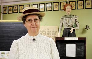 Maud Nyberg Jonsson, för dagen lärarinnan