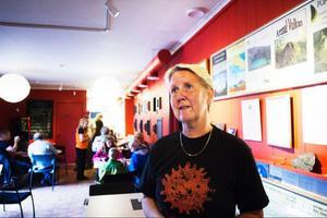 Geologins dag blev en succé i Ångsta. Närmare 200 personer besökte aktiviteterna på meteoritcentret, något som gladde Camilla Olsson, ordförande i Locknekraterns ekonomiska förening.