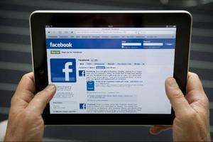 Facebook är världens näst mest använda nätsajt.Foto: Jessica Gow/Scanpix