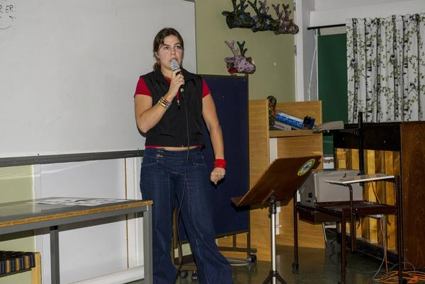 Paula Daabach pratade om sin passion stora kattdjur i Afrika.