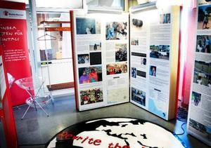 Utställningen går att besökas fram till den elfte december.Foto: Mattias Moberg