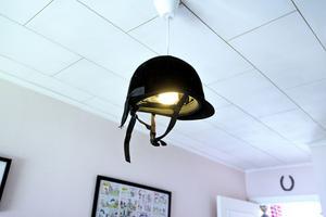 Perfekt lampa för en ridtjej.