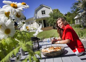 Jessika Eriksson hittade huset där hon och sambon Andreas Jakobsson nu stortrivs.