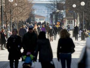 Sundsvall har inte långt kvar nu till nivån 100 000 invånare.