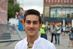 Ahmad Sajed såg fram emot musiken.