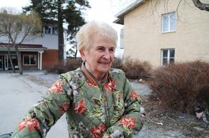 Irene Hallqvist, Brunflo.   – Sill och ägg och lax. Jag ska fira påsken här i Brunflo.