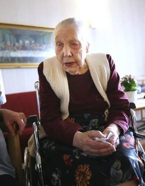 Märta Sandin har hunnit med mycket under sina 100 år.