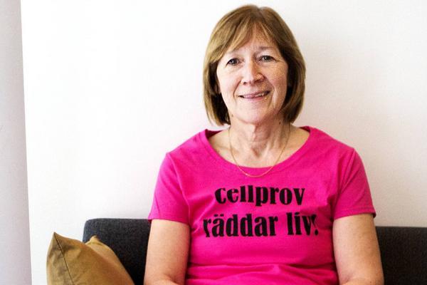 Ingrid Haglund, samordningsbarnmorska i Region Jämtland Härjedalen.