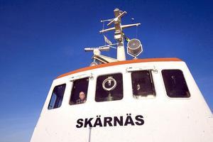 Båten är 45 år och inuti påminner miljön starkt om 1960-talet.