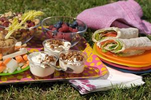 Tänk på vad du tar med dig för mat på picknicken, en del livsmedel klarar värme bättre än andra.