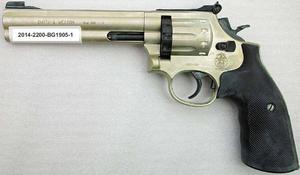 Revolvern som stugägaren i Silje hotades med.