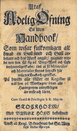 Originaltexten i tysk 1500-tals frakturstil gör boken synnerligen svårläst.