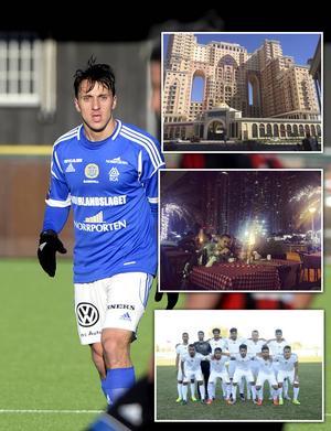 Adam Chennoufi har lämnat Sverige och GIF Sundsvall för Dubai SC.