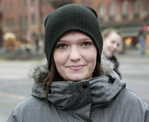 Lina Wallin, 17, studerande, Storvik:– Ja, för det ska vara vinter nu.