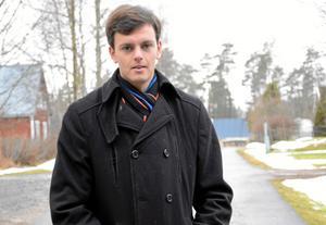 Engagemang. Robin Lind Winqvist hoppas kunna föra in Folkpartiet i Hällefors kommunpolitik igen.