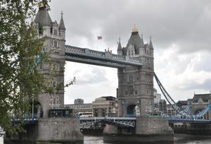 Vi var i London under 1 maj helgen och då tog jag denna bild på Tower Bridge.