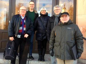 Kenneth Nilshem (c) Bollnäs, Mikael Thalin (c) Orsa, Barbro Wåger (c) Bollnäs, Håkan Yngström (c) Orsa och Bernt Westerhagen (c) Orsa.
