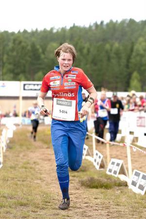 Kristin Olovsson är ett stort framtidslöfte, framför allt i sprint.