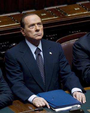 Kärvt läge. Italiens premiärminister Silvio Berlusconi har lovat att avgå efter att ha pressats hårt av inhemska kritiker, marknaden, EU, Tyskland och Frankrike. foto: scanpix