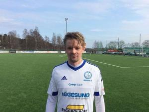 Joel Stillmark svarade för matchens enda mål – och sköt tre poäng till Iggesund i division 3-premiären.