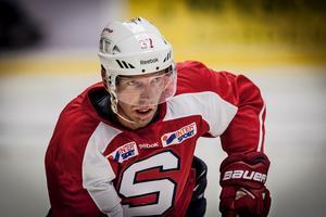 Mikael Samuelsson tränade med SSK augusti 2013.Fotograf: Jonas Tetzlaff