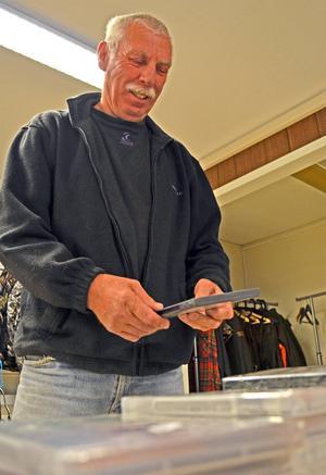 Älgjägaren Hasse Karlsson från Fränsta var en av de första kunderna.