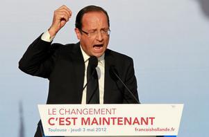 Efter söndagens val lär Frankrikes president heta Hollande.