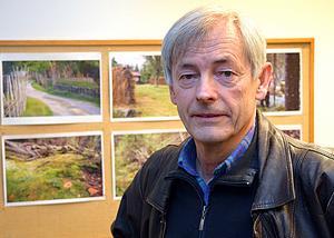 Anders Janols berättade om mångfalden i Gagnefsfäbodarnas slåtterängar.