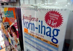 Familjens kom ihåg-kalender säljs det mest av.