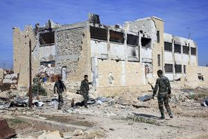 En strimma hopp skymtar i ett Syrien i ruiner.