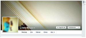 Facebook-sidan som lurade 53-åringen är rätt intetsägande. Bilden av kvinnan som är nån helt annan har stor spridning på nätet.