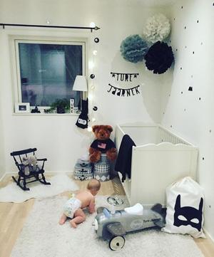 Här bor snart 1-årige Ture.