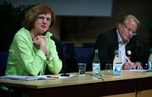 En av initiativtagarna var riksdagsledamoten Ann-Britt Åsebol (M) från Falun.