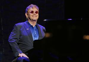 Elton John kommer inte att få en audiens med Rysslands president Vladimir Putin när han uppträder i Moskva. Arkivbild.