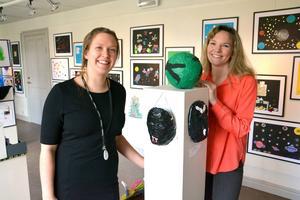 Ida Westman är projektkoordinator och Maria Elfving projektledare för Utopia-projektet.