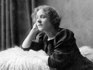 PIONJÄR. Ester Julin från Gysinge var en av de första manusförfattarna inom svensk film.