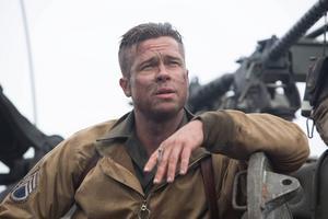 Brad Pitt spelar Wardaddy, själva urtypen för en benhård tuff soldat i