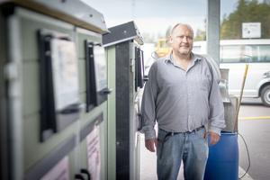 Pär Norberg är avfallschef på Ulvbergets återvinningscentral.