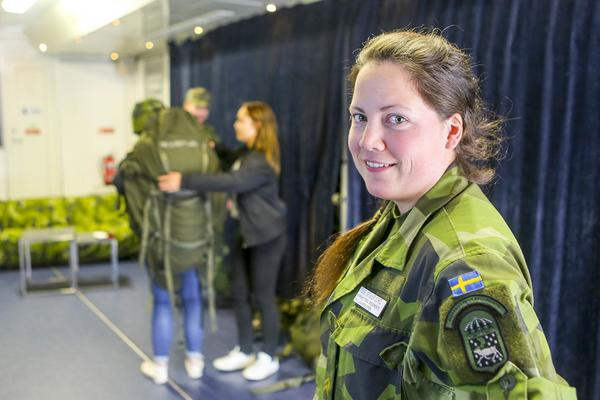 Tove Stillfjord jobbar med rekrytering på Fältjägargruppen.