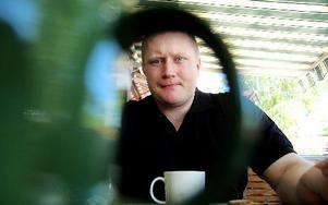 Bo Jonsson som förespråkar alternativ media har bland annat drivit ett antal bloggar som blivit avstängda från svensk media.FOTO: CHRISTIAN LARSEN