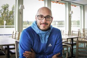Mattias Hellström är Jokarjo AB:s etableringsansvarige vid Alfta Quren.
