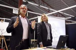 Simon Davies och Tomas Cederlund gästar Gävle och bomässan i dag.