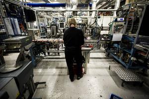 Tack vare pensionsavgångar finns det god chans till jobb inom industrin i Hälsingland.