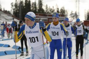 Axel Aflodal från Stockholm visade alla ryggen från start till mål i H15.