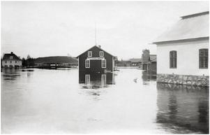 Ån från Falubron mot Klabbron.
