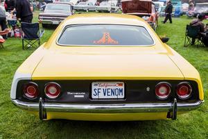 En av Ford Mustangs konkurrenter var Plymouth Barracuda.   Foto: Shutterstock.com