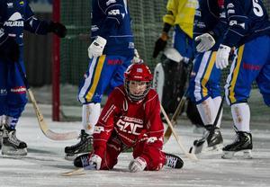 Sandra Timans och hennes Söråker föll borta mot Hammarby med 5–2.