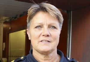 Agneta Kumlin. lokalpolisområdeschef för Sala-Fagersta-Surahammar